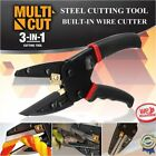 Multi-Function 3 In 1 Cut Plier Power Cutting Tool With Built-In Wire Cutter XA