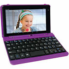 """HD 7"""" Touchscreen Tablet PC w Keyboard Case Google Android Quad-Core Webcam WiFi"""
