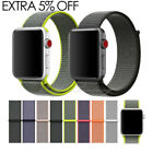 Sports Loop Band Nylon Replacement Strap For Apple Watch Series 1 2 3 iWatch
