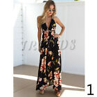 UK Womens Holiday Strappy Ladies Maxi Long Summer Print Beach Dress Size 6-14 <br/> =UK Same Day Dispatch=UK Next Day Delivery Available=