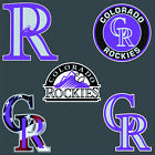 "5"" 10"" 15"" 20"" Colorado ROCKIES Baseball Car Truck Window Wall Decal Sticker"