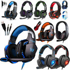 ps3 headset mic - 3.5mm Gaming Headset Mic Headphones Stereo Surround for PS3 PS4 Xbox ONE 360 PC