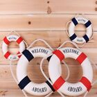 USA Swimline Pool Safety Ring Buoy Decor Boat Swimming Pool Foam Life Preserver