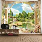 Nature Scenery Print Tapestry New Art Room Decor Bedspread Wall Hanging Tapestry
