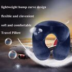 U Shape Inflatable Daydreamer Neck Pillow with Airplane Travel Packsack Hot USA