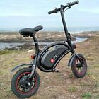 "DYU 12"" E-Bike Folding Electric Bike Bicycle w/12 Mile Range, 6.0Ah Battery BEST"