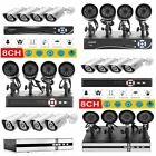 in car camera systems - 8CH 1080N 4in1 HDMI DVR 1080P Outdoor IR P2P Security Camera System 4 Cams BE