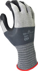 Showa 381 Nitrile Coated Work Glove,  Ultra Thin & Light,  Extreme Dexterity,  S-XL