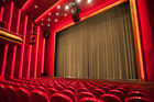 soundproof drapes - THEATER PANEL | COTTON VELVET CURTAIN SOUNDPROOF STAGE THEATRE DRAPE | MOCHA