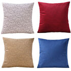 "18"" Abstract Leaf Pattern Cloth Sofa Cushion Cover Throw Pillowcase Home Decor"