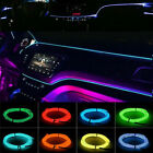 Kyпить Flexible LED Light EL Wire String Strip Rope Glow Decor Neon Lamp USB Controlle на еВаy.соm
