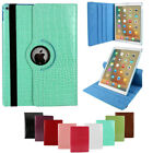 Folio Rotation Case Cover For Apple iPad Mini 1 2 3 4  PU Leather Shockproof