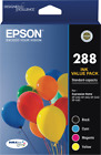 NEW Epson T305692 288 4 Colour Ink Pack