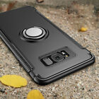 For Samsung Galaxy S6 S7 S9 cases S8 Case Luxury Magnetic Kickstand Ring Holder