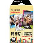 New Fujifilm Instax Instant Film - NYC Editions 10 Sheets (BLOWOUT SALE)