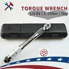 "1 2"" 1 4"" 3 8"" Adjustable Drive Torque Ratchet Wrench Micrometer Tools 28-210nmA"