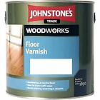 Johnstones Trade Clear Floor Varnish Gloss & Satin 2.5L 5L Woodworks Cheap Sale