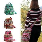 Jacquard Style Bags Backpack Pockets Straps Lining Zips Pockets Multi Coloured
