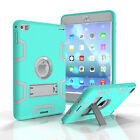 Shockproof Heavy Duty Hard Case & Stand Cover for Apple iPad 2 3 4 6 Mini 1 2 3