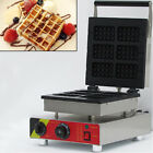 NZL Commercial Waffle Maker Square Eletric Pancake Iron Baker Machine Nonstick cheap
