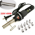 450W 220V Easy Hot Air Heat Gun Soldering Station LCD Display+Nozzle Durable