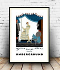 Your new dress : Vintage travel , poster, Wall art, reproduction.