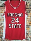 Paul George 24 Fresno State Bulldogs Sewn Basketball Jersey Size S~XXXL <br/> All suture++USPS++Free delivery++Lightning transport