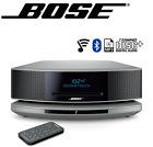 NEW Bose Wave SoundTouch IV 4 Bluetooth WiFi CD MP3 Music Speaker SILVER ⊕ BLACK