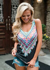 US Womens Boho Tank Top Vest Sleeveless Loose Summer Beach Casual T-Shirt Blouse <br/> ◆1000+ SOLD!!!◆Top Quality◆Fashion &amp; Stylish