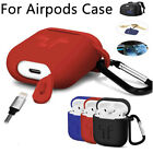 For Apple AirPods Earphone Headset Protective Case Cover Skin Bag Box Shockproof