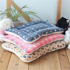 Dog Cat Pet Blanket Pad Fleece Bed Cushion Warm Sleep Soft Mat 32x50cm