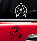 Star trek Decal Vinyl Car Window Sticker ANY SIZE on eBay