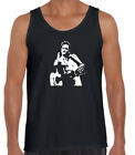 Johnny Cash t-shirt Man in Black Giving the finger Funny Tshirts retro tee's