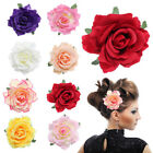 Hair Blooming Flower Rose Corsage Hair Clip Wedding Bridal B