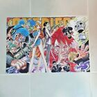 NEW Anime One Piece Poster Luffy Zoro Wall Art Home Decor 16.5x11.25 Inches