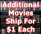 DIsney/Family/Horror/More A - G Blu-Ray movie list! 1st ships for $3, 2nd+ $1ea! $3.99 USD on eBay