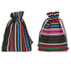 10x14cm Bunt Tribal Tribe Drawstring Jewelry Gift Bags Pouches 02