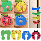 Внешний вид - 5/10pcs Children Baby Safety Cartoon Door Stopper Clip Clamp Pinch Hand Security