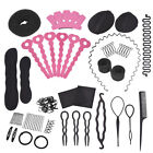 20 Set Haar-Zubehör Haar Styling Donut Flechten Magic Hair Pin Frisurhilfe Zopf4