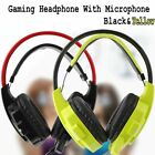 3.5mm Gaming Headset Mic LED Noise Cancellation Headphone Stereo Surround for PC