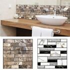 1pc Pvc Wall Decal 3d Faux Brick Wallpaper Install Easily Family Tile Sticker