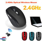2.4GHz Wireless Optical Gaming Mouse Mice USB Receiver For PC Laptop Computer