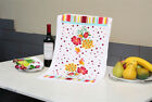 Retro Print Tea Towel Non Stick Oil Polyester Cleaning Towels Kitchen Dishcloth