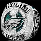 Your Own Name 2017 2018 Philadelphia Eagles Championship Ring Wooden Box Gift
