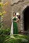 IDD Renaissance Medieval Irish Costume Over Dress & Boho Chemise Set.