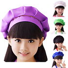 Kids Girls Child  Hat Cooking Baking Kitchen School Children Bib Set 02
