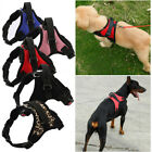 Pet Dog Vest Harness Leash Collar Set No Pull Adjustable Small Medium Large XL