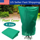 4 Size Green Warm Plant Cover Tree Shrub Frost Protection Bag Yard Garden Winter