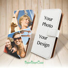 Custom Photo Leather Case Flip Cover for Apple iPhone X /8/ LG G7/ Personalized