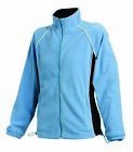Finden & Hales Ladies Contrast Full Zip Women's Micro Fleece Jacket LV551